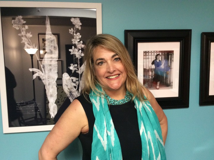 Laurie Bluestone, tenant and co-founder of Indigo Avenue.