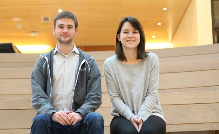 student entrepreneurs Blake Marggraff and Jolijt Tamanaha