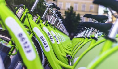 Google Provides Bicycle Rides To All Its Employees